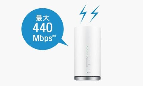 自宅ネット環境におすすめのホームルーター!WiMAX HOME L01s