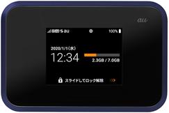 WiMAXモバイルルーターW07